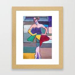 The Ballerina Framed Art Print