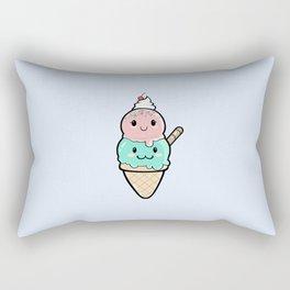 Cute Ice Cream Kawaii Rectangular Pillow