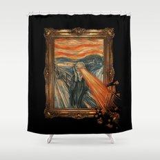 Art Attack Shower Curtain