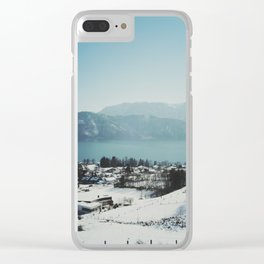 Attersee (8) Clear iPhone Case