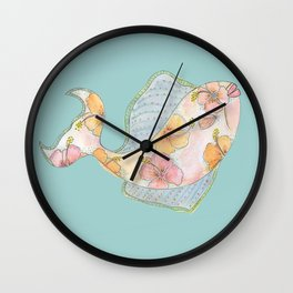 hawaii fish Wall Clock