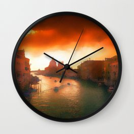 Inferno Is Coming Wall Clock