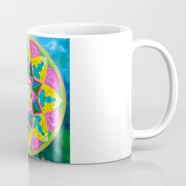 Mandala of Green Tara Coffee Mug