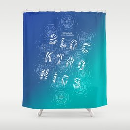 10 Years of Extreme Blockage Shower Curtain