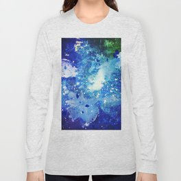 Melted Crayon Galaxy Long Sleeve T-shirt