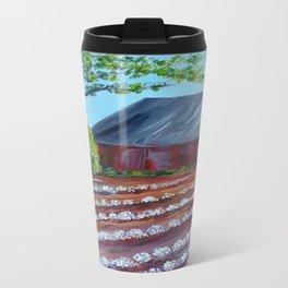 Rows of Cotton Travel Mug