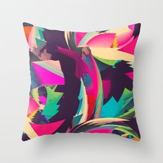 Free Abstract Throw Pillow