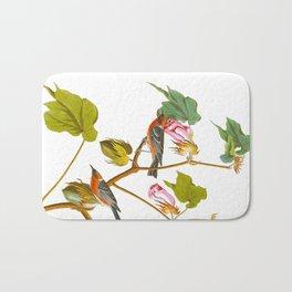 Bay-breasted Warbler Bird Bath Mat