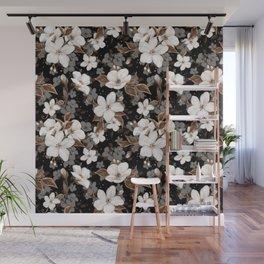 Apple flowers Wall Mural
