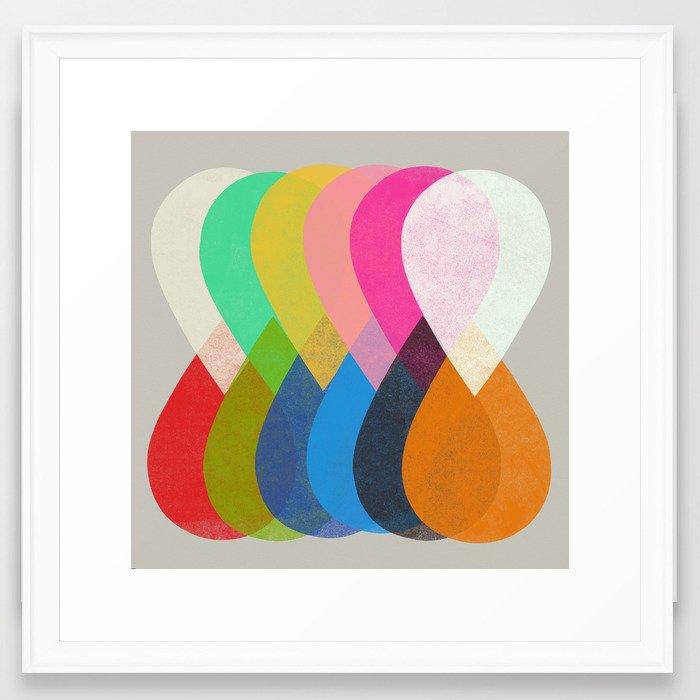 merge 1  Framed Art Print