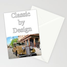Vintage car and English Pub Stationery Cards