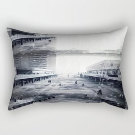 Snowfallen Ashes: Within These Years of Questionable Defeat Rectangular Pillow