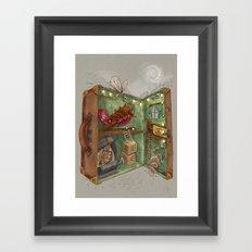 One man's trash - Home Sweet Home Framed Art Print