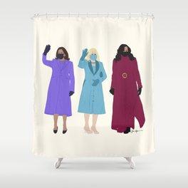 Inaugural Trio 2021 Shower Curtain