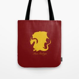 Distressed Pendragon Crest Tote Bag