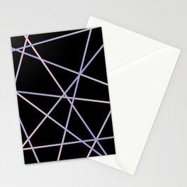 Rose Quartz & Serenity on Black Stationery Cards