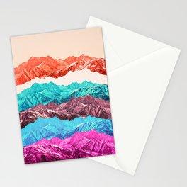 mountain mashup Stationery Cards