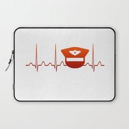 PILOT HEARTBEAT Laptop Sleeve