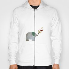 Elephant and friends Hoody