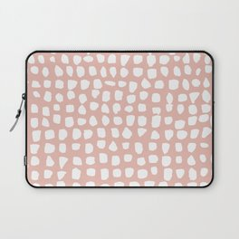 Dots / Pink Laptop Sleeve