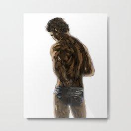 Sexy Back 3 Light BG Metal Print