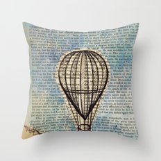 Drifting Slowly Throw Pillow