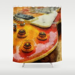 Les Paul Std 1958 Vos Shower Curtain
