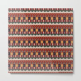 African Tribal Metal Print