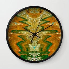 abstract shapes 8 Wall Clock
