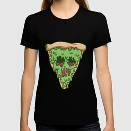 Zombie Pizza. - Gift T-shirt