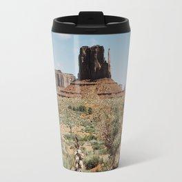 Blooming Southwest Desert Yucca Travel Mug