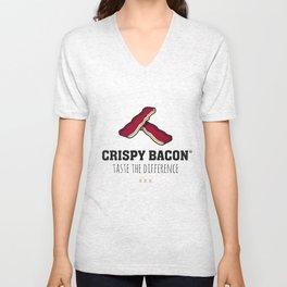 Crispy Bacon Unisex V-Neck