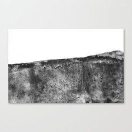 The Margaret / Charcoal + Water Canvas Print