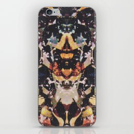 Rorschach Flowers 6 iPhone Skin