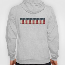 Vintage Texas flag pattern Hoody