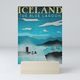 Iceland: Blue Lagoon Mini Art Print