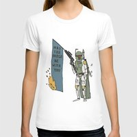 boba T-shirts featuring Boba by Lewis Farrow