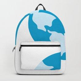 Minimalist Earth Science Badge Backpack