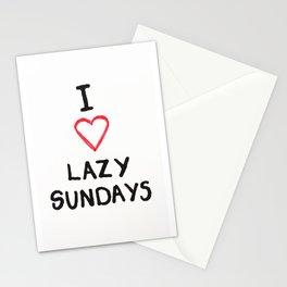 Lazy Sundays Stationery Cards