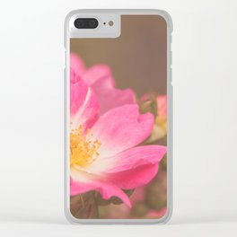 Roses 3 Clear iPhone Case