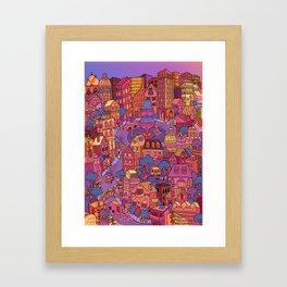 Tuna Plaza Framed Art Print