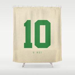 10 O Rei Shower Curtain