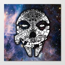 Sitfits - Millennium Fiend Skull Canvas Print