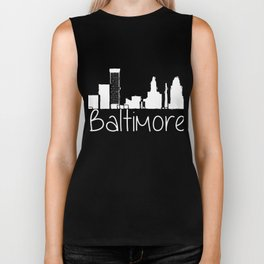 Baltimore Hometown City tee Biker Tank