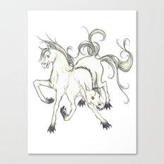 horse of DOOM Canvas Print