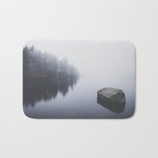 Morning blues Bath Mat