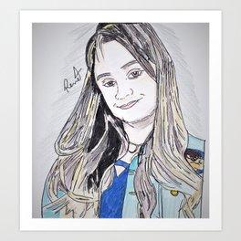 Caca Loira Art Print