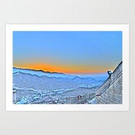GWOC Skyline Art Print