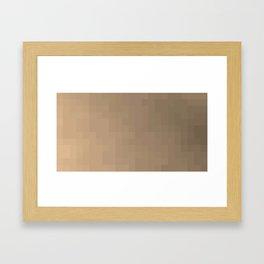 ABSTRACT PIXELS #0006 Framed Art Print