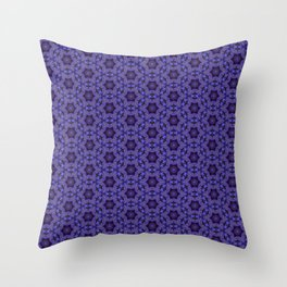 Purple Passion Pattern 14 Throw Pillow